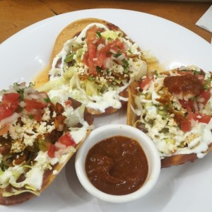 Tostitas mixtas