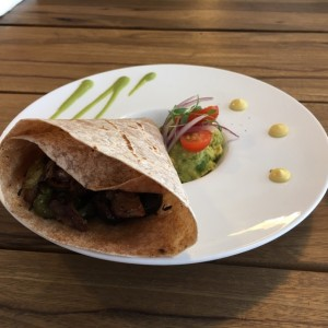 Wrap Integral con Pollo