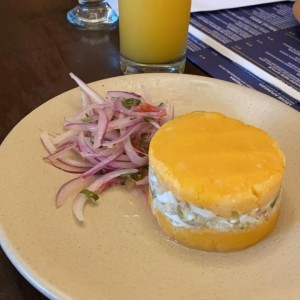 Causa de cangrejo
