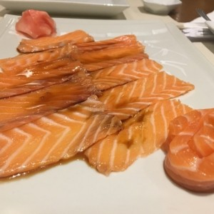 carpacho de salmon