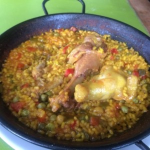 Paella Tres Aves