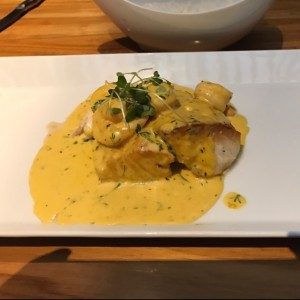 filete de cherna aji amarillo