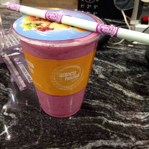 Smoothie charles river (frutos rojos)