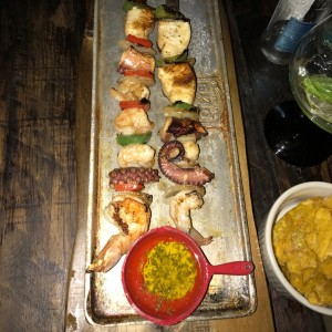 Brochetas de Mar