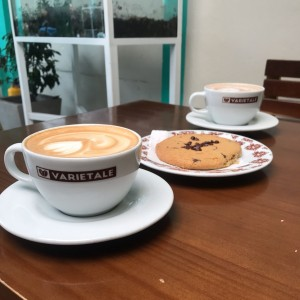 cappuxcino y galleta