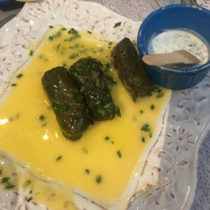 sluffed grape leaves