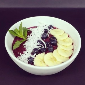 Smoothie Bowl de Frutos Salvajes