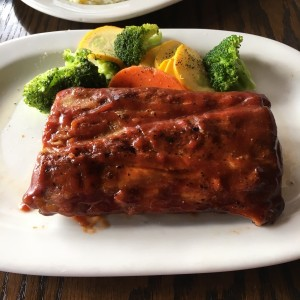 1/2 Baby back ribs honey Bbq