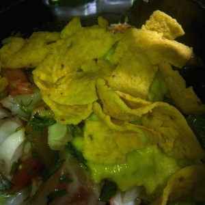 Ceviche aguacate