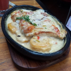Filete de Corvina encocado