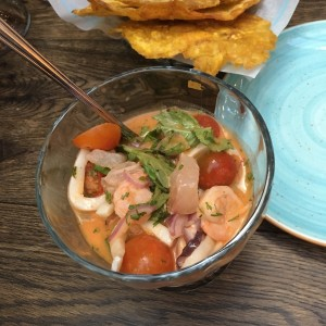 ceviche red thai curry