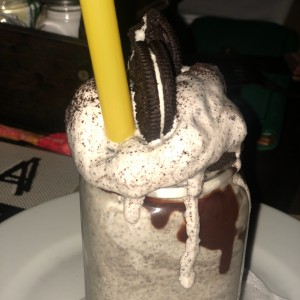 Malteada de Cookies 'n' Cream