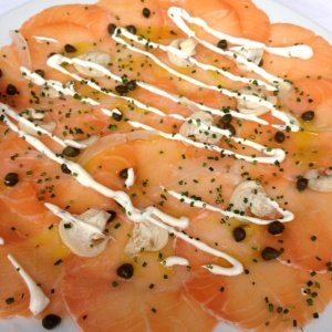 Carpaccio Salmon