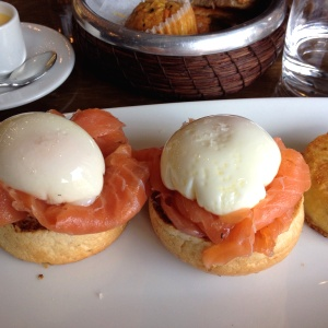 Benedictinos con Salmon