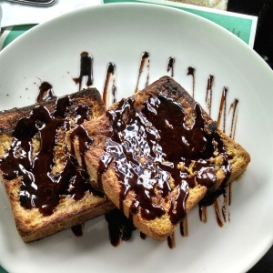 French toast con Nutella