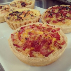 quiches variadas