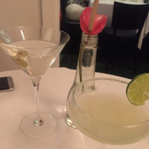 martini y margarita