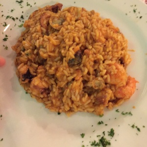 Risotto frutos del mar