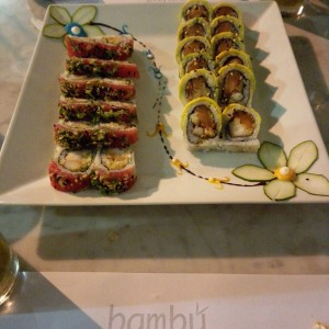 tuna and bambu roll