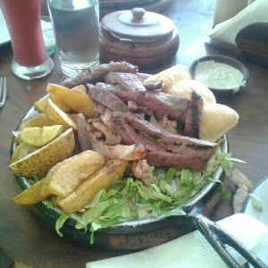 parrilla mixta