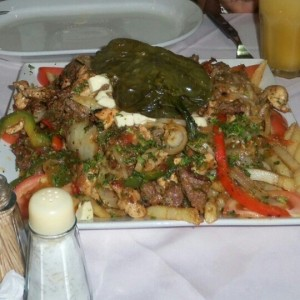 Parrilla mixta Pollo - Lomito
