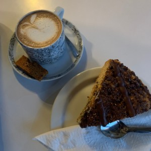 Moka y coffecake de chocolate