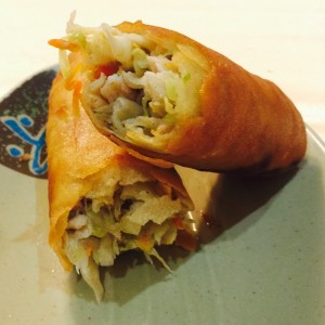 Lumpias Close Up