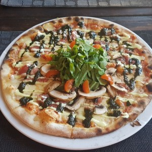 pizza carpaccio
