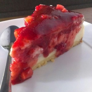 Cheesecake de frutos del bosque