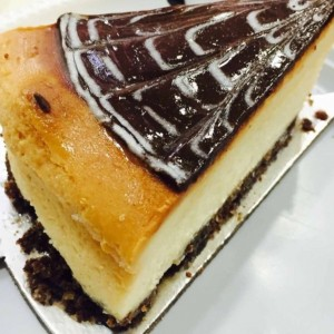 Chesse Cake con Sirope de Chocolate