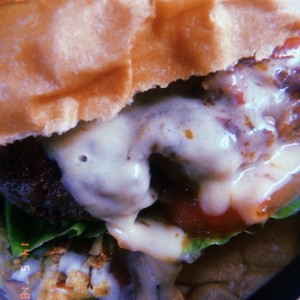 Close-up choriburger