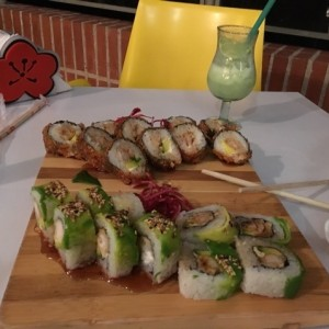 Dragon Roll y Coco Loco