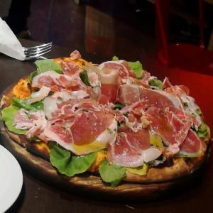 Pizzas Top - Serrano & Rugula