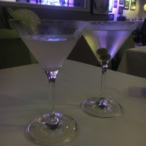 Margarita y Martini