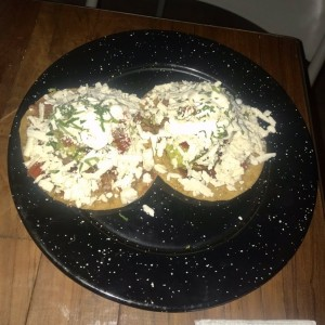 Tostadas - De Arrachera