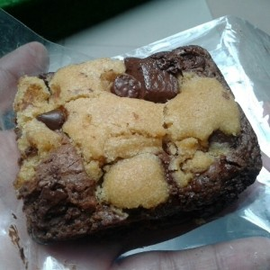Cookie Brownie, excelente!