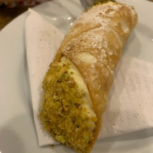 cannolo de naranja con chocolate