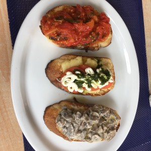 Bruschetta Mixta