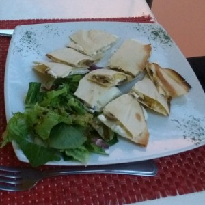 Quesadillas tartufo