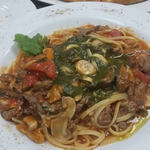 Linguini al Fileto