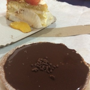 Tartaleta de Chocolate.