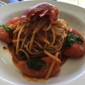 linguine al filetto