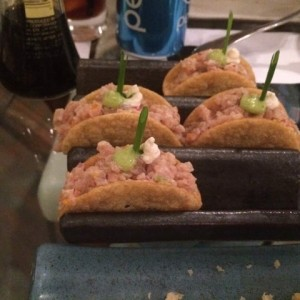 tacos spicy tuna