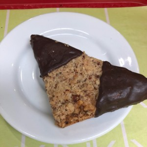 Galleta con chocolate