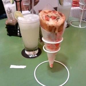 Cono Pizza - Margarita