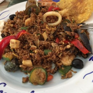 paella tropical